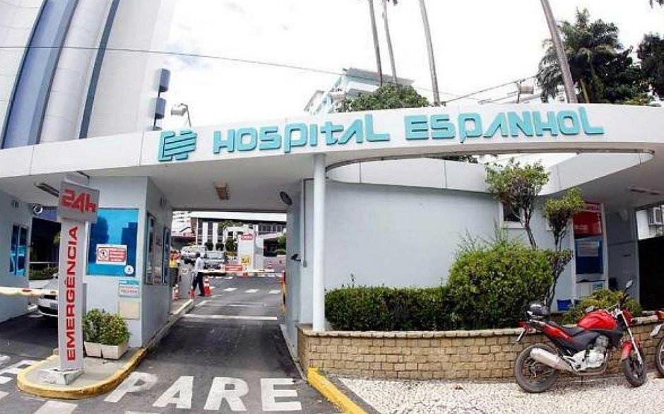 Hospital Espanhol, em Salvador