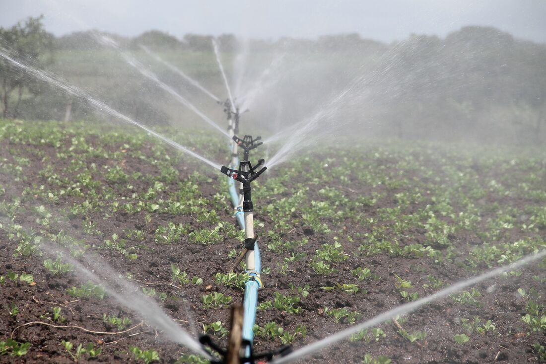 Uso de recursos hídricos na agricultura