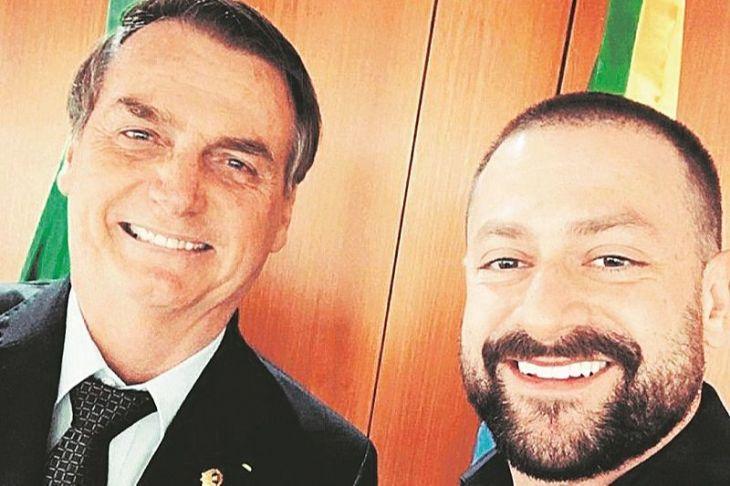 Jair Bolsonaro e Ítalo Marsili
