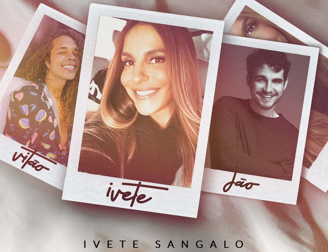 Ivete lança duetos com Jão e Vitão