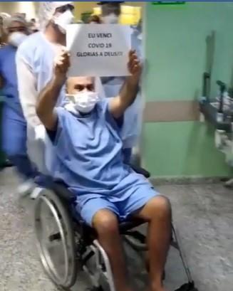 Maciel Júnior recebeu alta da UTI nesta terça-feira (12)