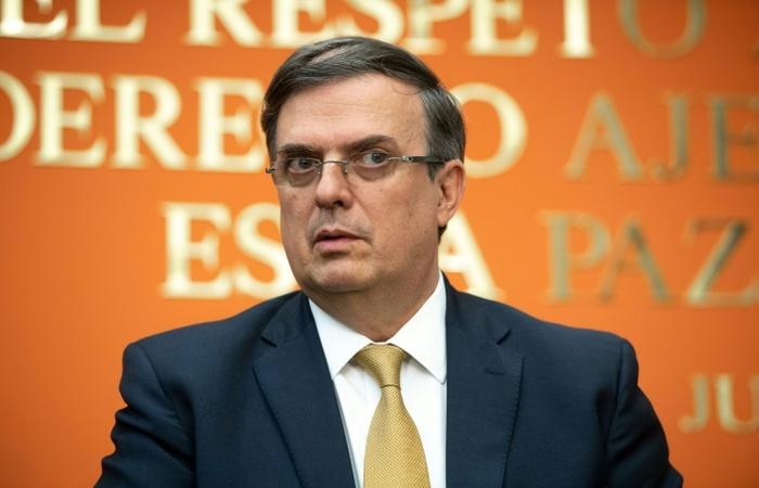 Marcelo Ebrard, ministro mexicano das Relações Exteriores