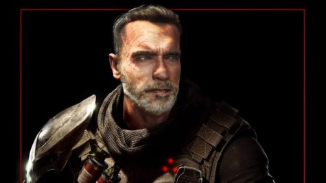 Personagem de Arnold Schwarzenegger em 'Predator: Hunting Grounds'