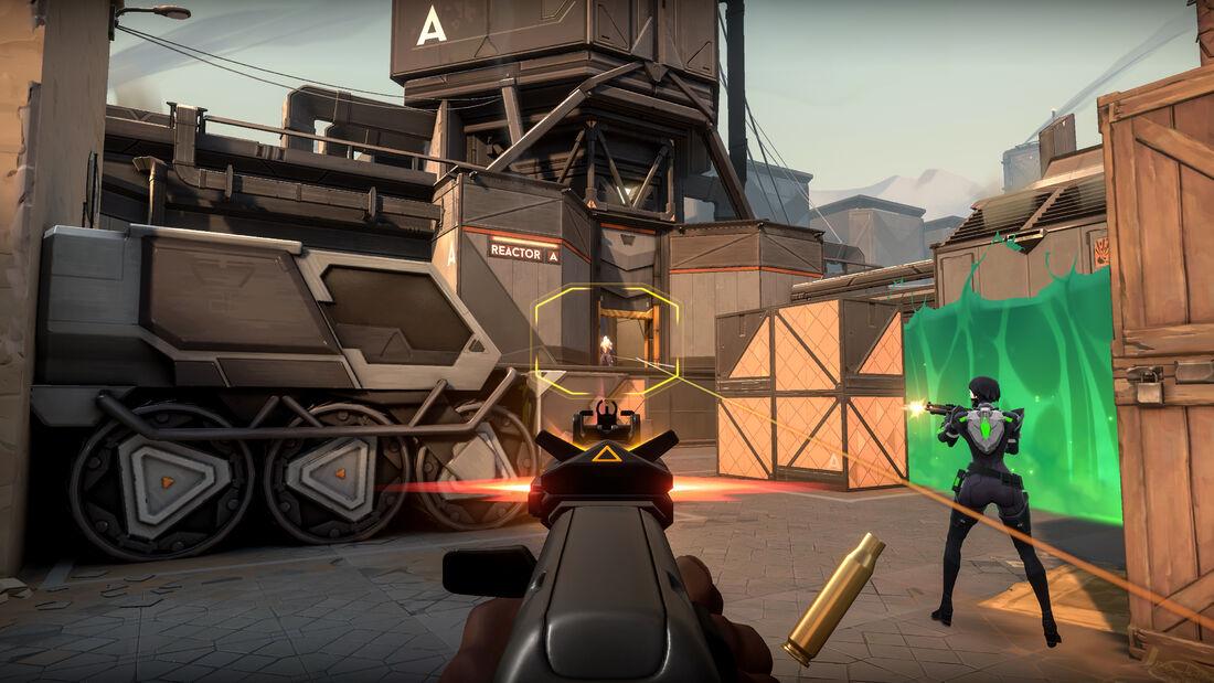 Imagens de VALORANT, novo jogo da Riot Games