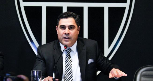 Sette Câmara, presidente do Atlético Mineiro