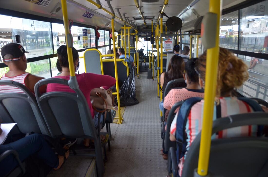 Movimentação no TI Joana Bezerra, no Recife