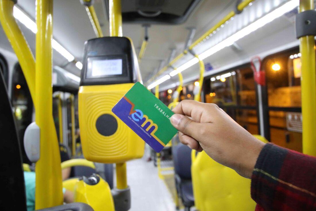 O cartão Vem comum poderá estar sendo adquirido gratuitamente pelos usuários que desembarcarem no Terminal Integrado Afogados