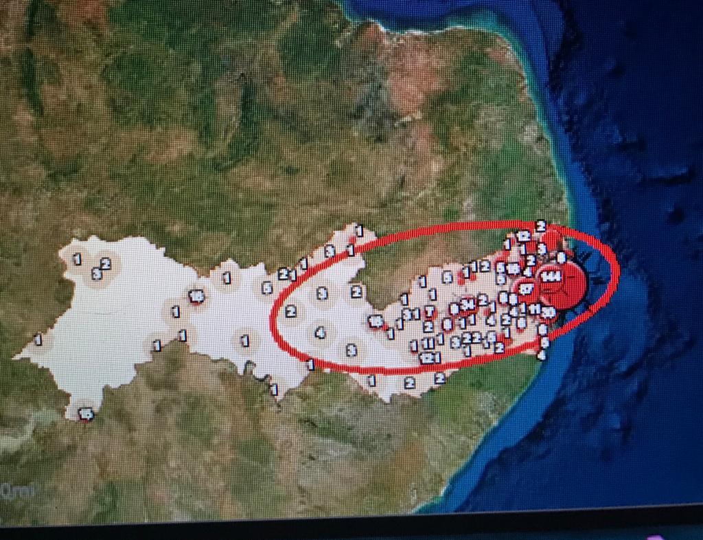Mapa analítico da Fundaj atualizado no dia 5 de maio