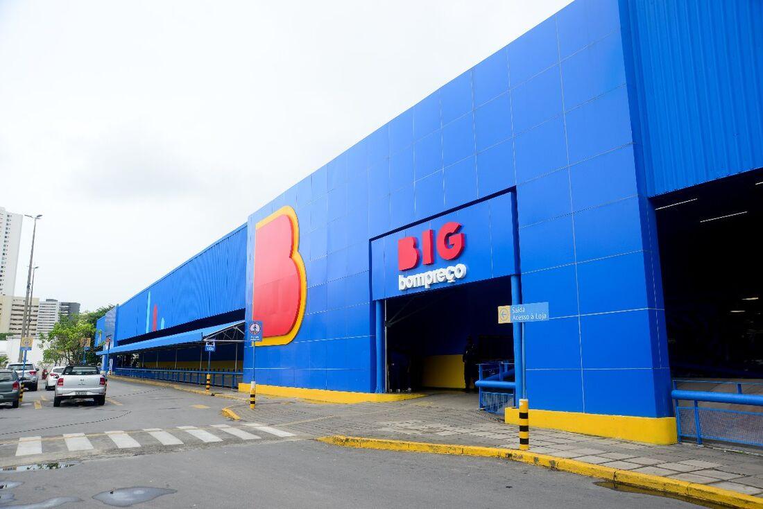 O Grupo BIG conta com mais de 400 lojas