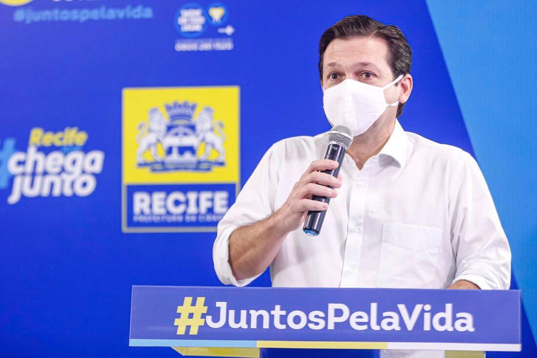 Prefeito do Recife, Geraldo Julio
