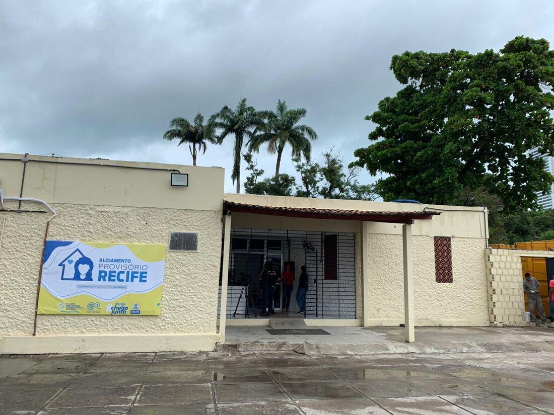 Alojamento Provisório Recife, destinado aos servidores municipais que estão na linha de frente do combate à Covid-19