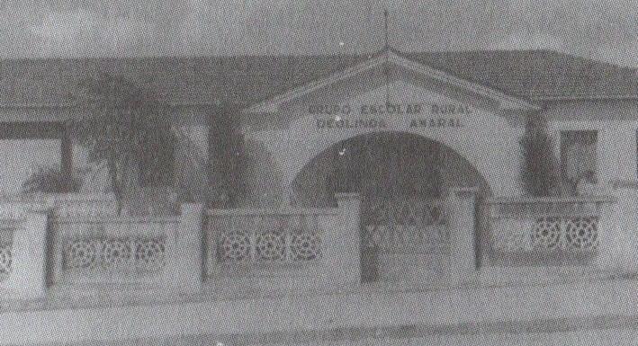Grupo Escolar Deolinda Amaral foi fundado pelo então prefeito Antônio Dourado com projeto de lei de Armando de Queiroz Monteiro