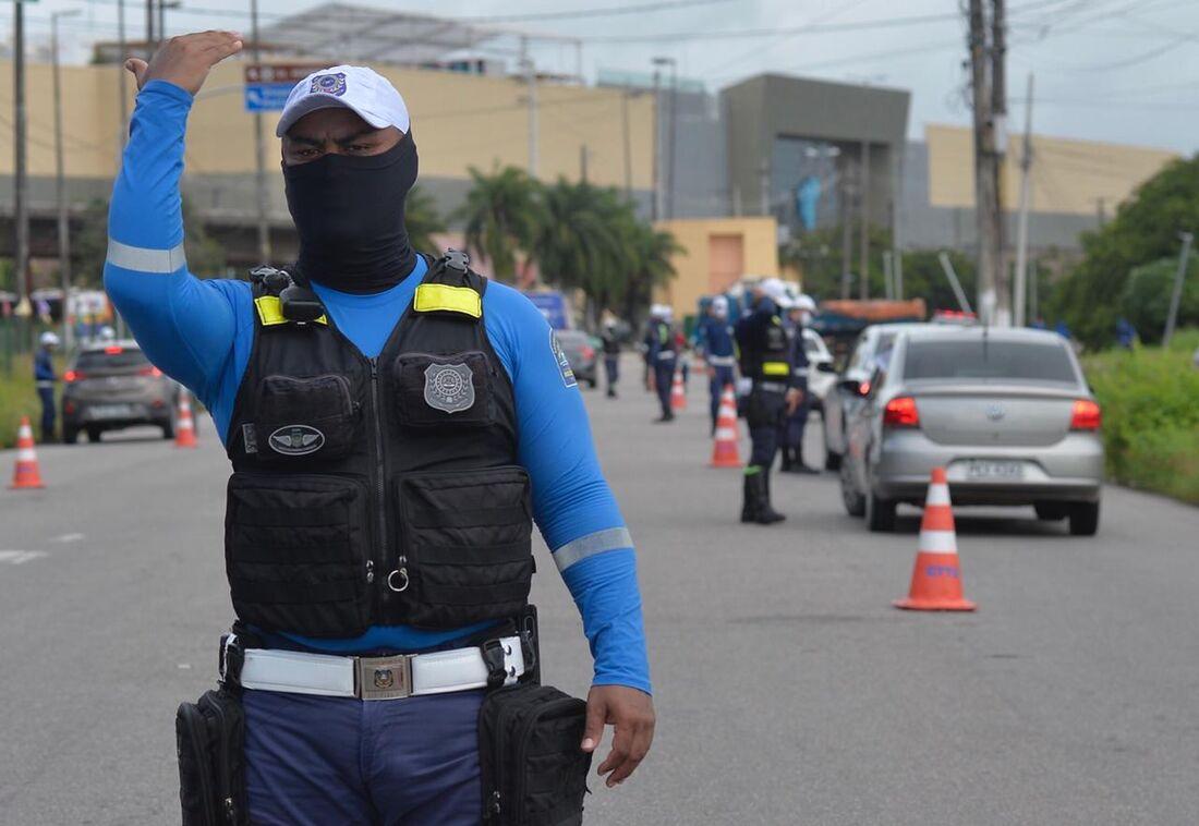 Fiscalização da quarentena mais rígida no Recife