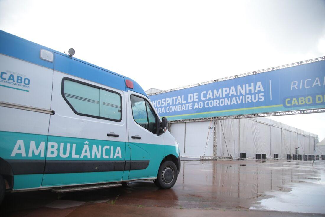 Hospital de campanha é inaugurado no Cabo