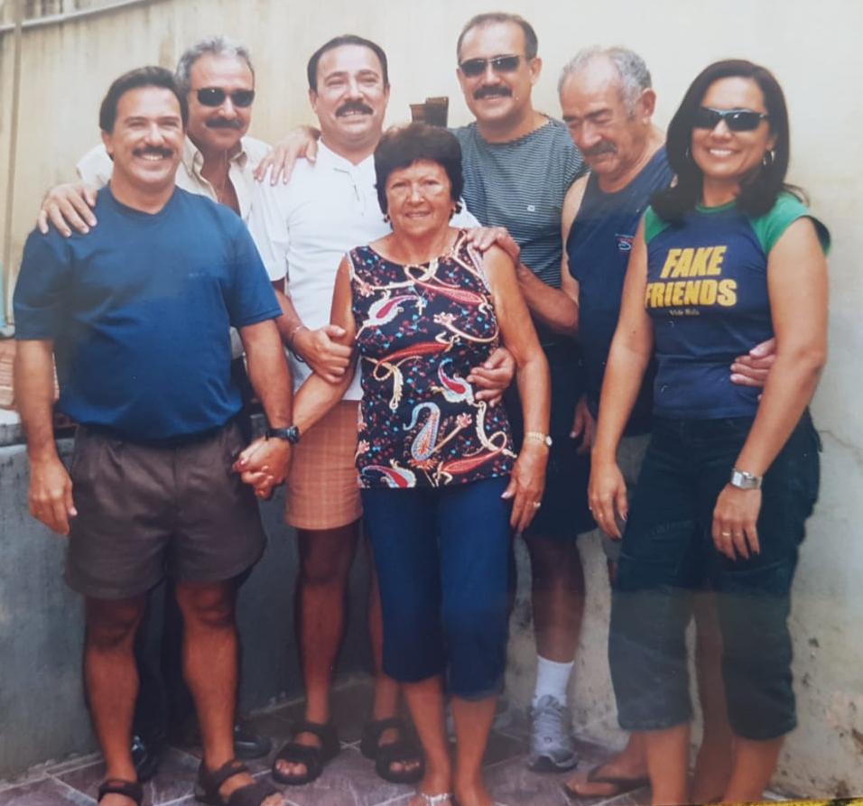 Eraldo em família