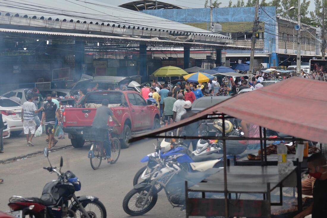 Movimentação intensa em Jaboatão dos Guararapes