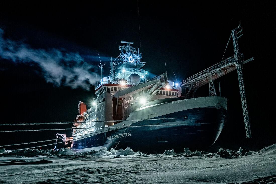 Expedição no Ártico