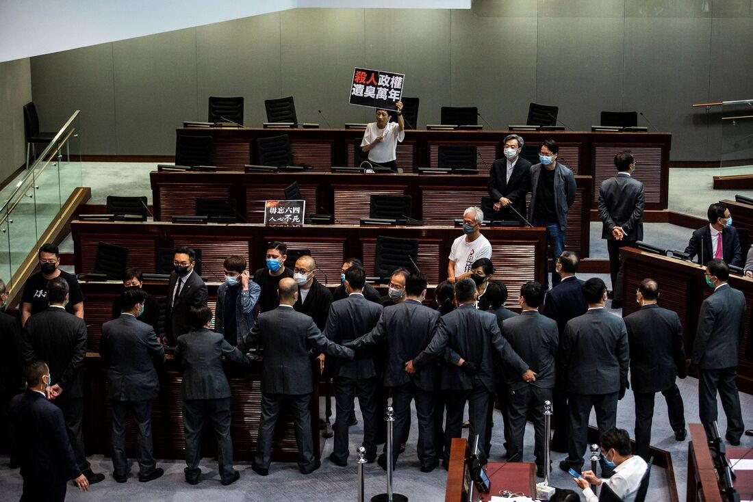 Protestos seguem acontecendo em Hong Kong