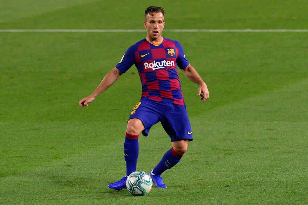 Arthur, meia do Barcelona