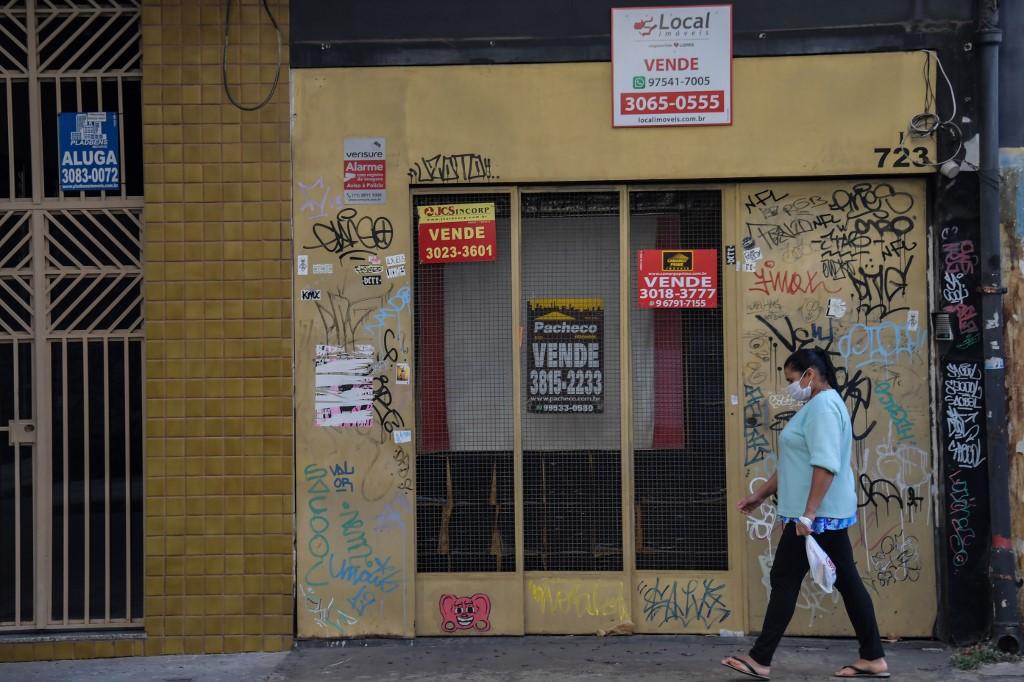 Lojas fechadas por conta da crise da Covid-19
