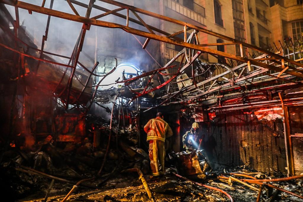 Explosão em Teerã
