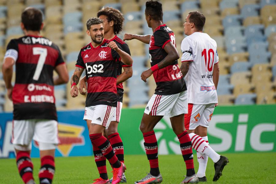 Flamengo x Bangu, pelo Carioca
