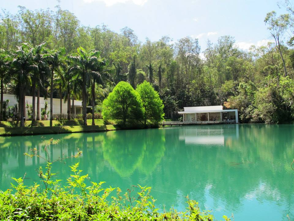 Instituto Inhotim, em Minas Gerais.