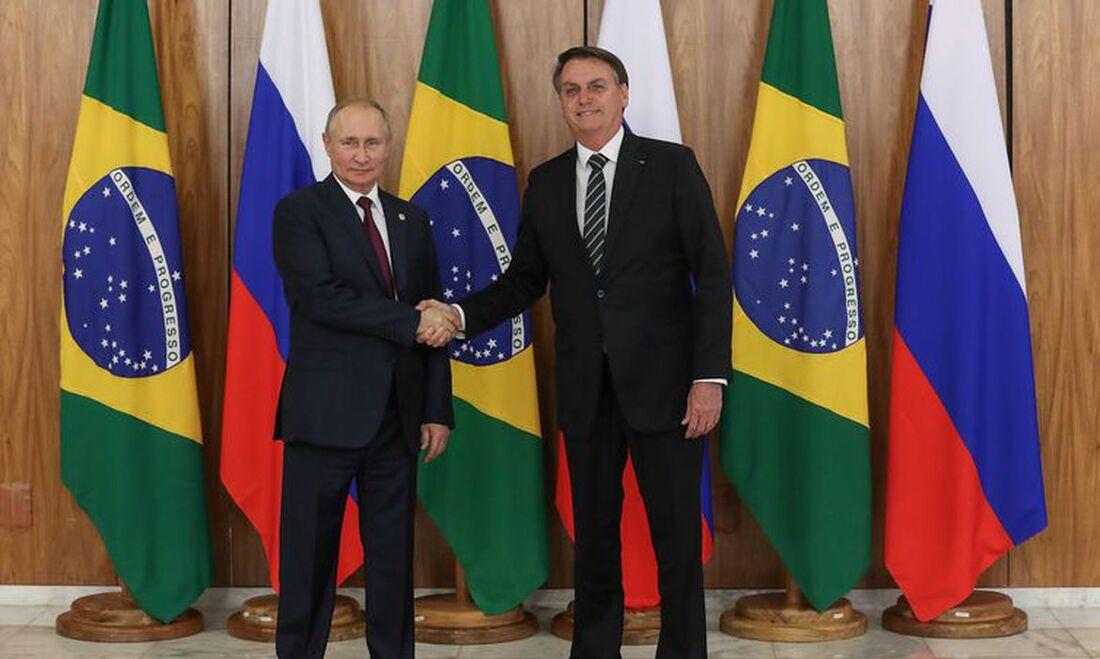 Bolsonaro e Putin