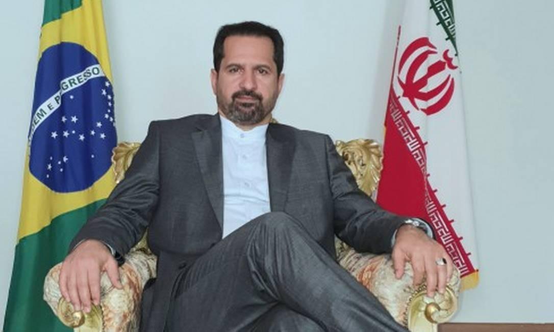Hossein Gharibi, embaixador da República Islâmica do Irã no Brasil