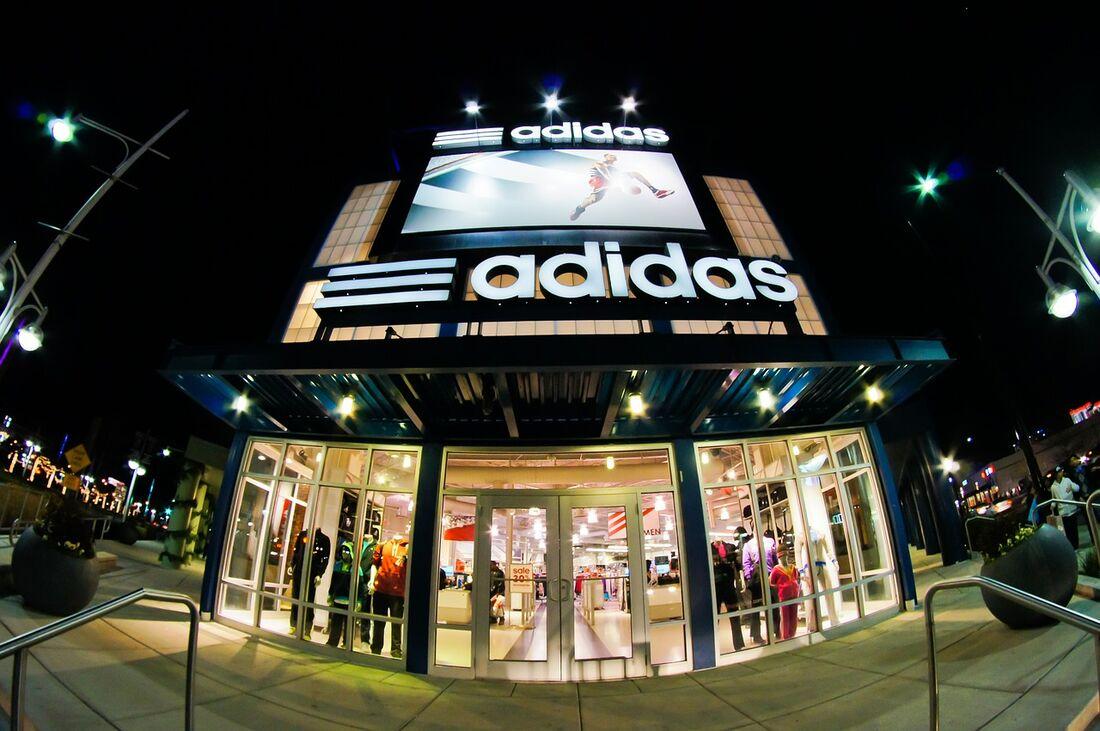 Loja da Adidas em Atlanta, nos EUA