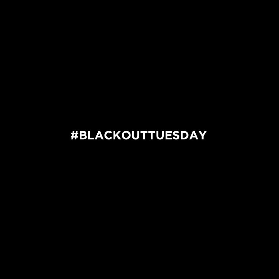 Campanha #BlackoutTuesday