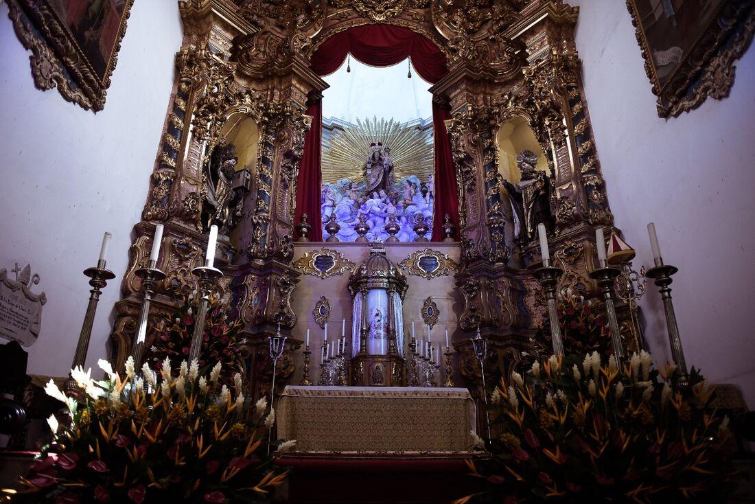Basílica de Nossa Senhora do Carmo, no Centro do Recife
