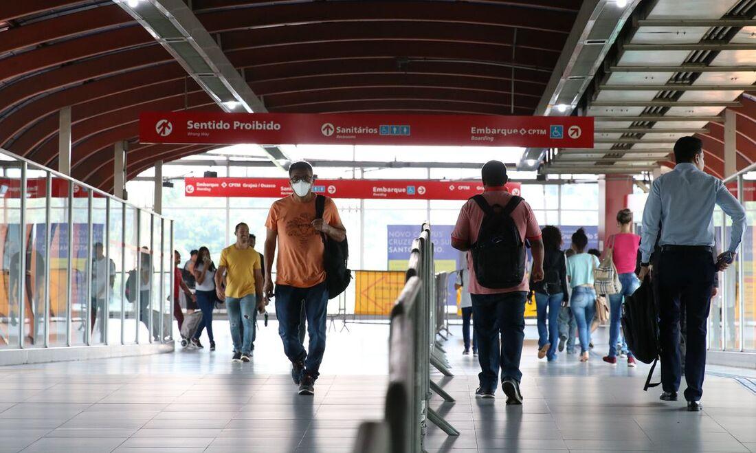 Estação Pinheiros, em São Paulo
