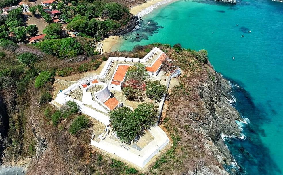 Forte de Nossa Senhora dos Remédios, em Fernando de Noronha