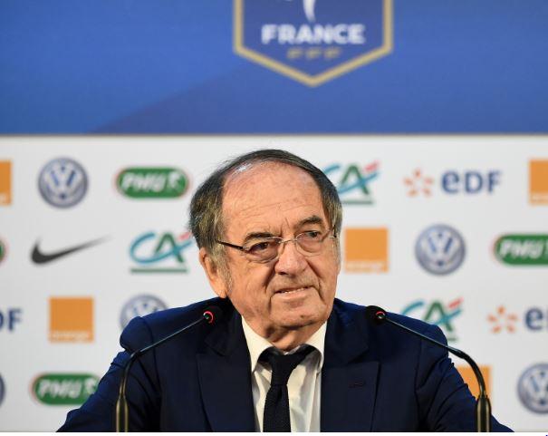 Presidente da Federação Francesa de Futebol, Noel Le Graet