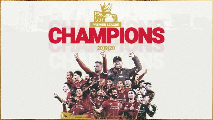 Liverpool é campeão inglês após 30 anos