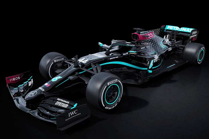 Novo carro da Mercedes