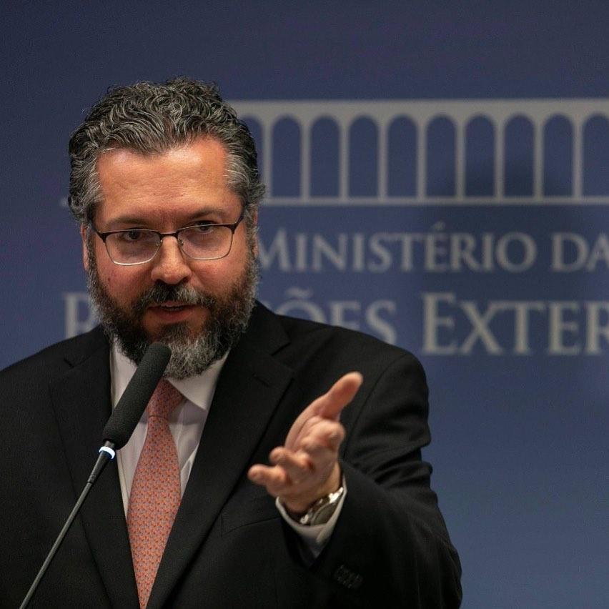 Ministro das Relações Exteriores do Brasil, Enesto Araújo