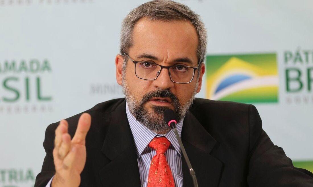 Ex-ministro da Educação, Abraham Weintraub
