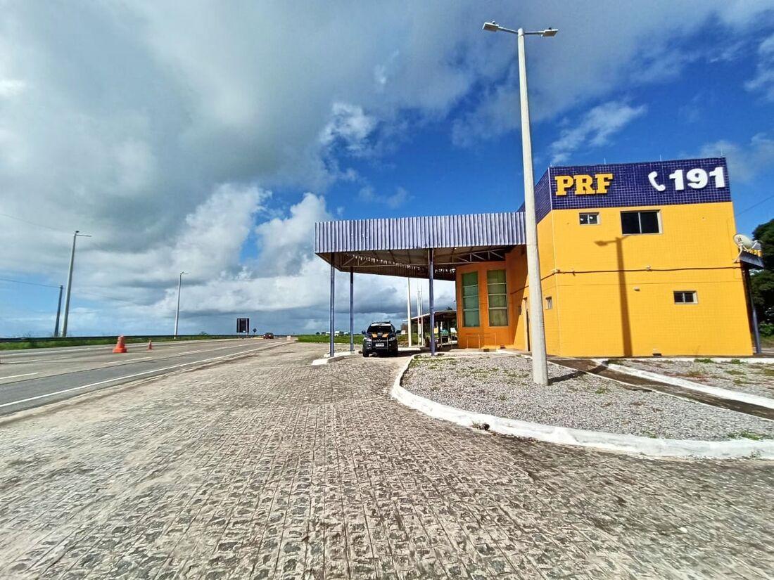 Posto da Polícia Rodoviária Federal em Igarassu
