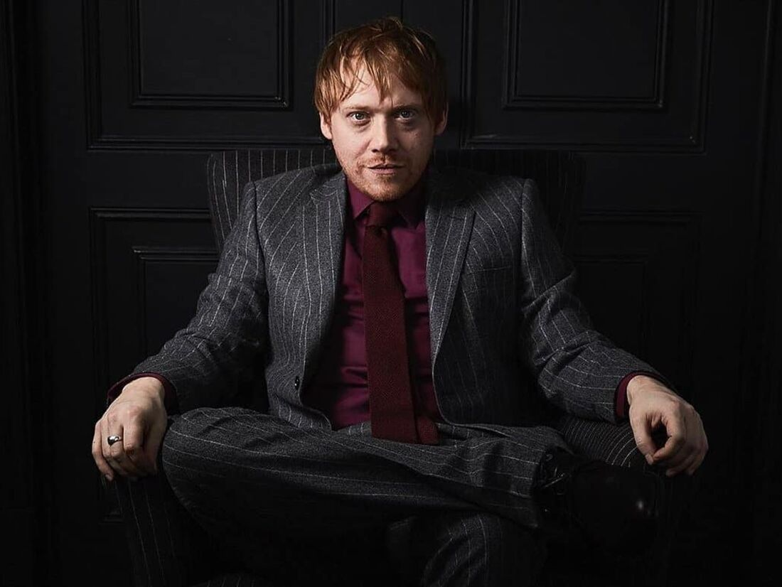 Rupert Grint interpretou o Rony na saga Harry Potter
