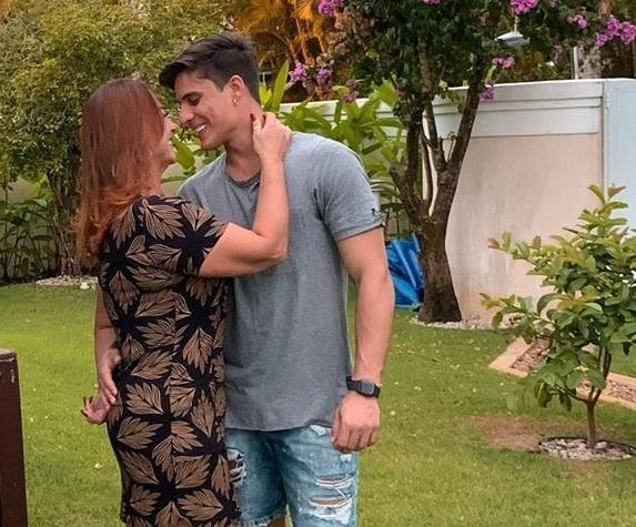 Nadine Gonçalves e Tiago Ramos