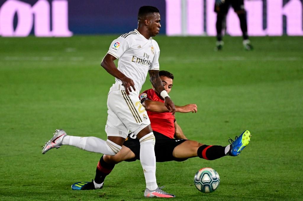Vinícius Júnior teve mais uma boa atuação com a camisa do Real Madrid
