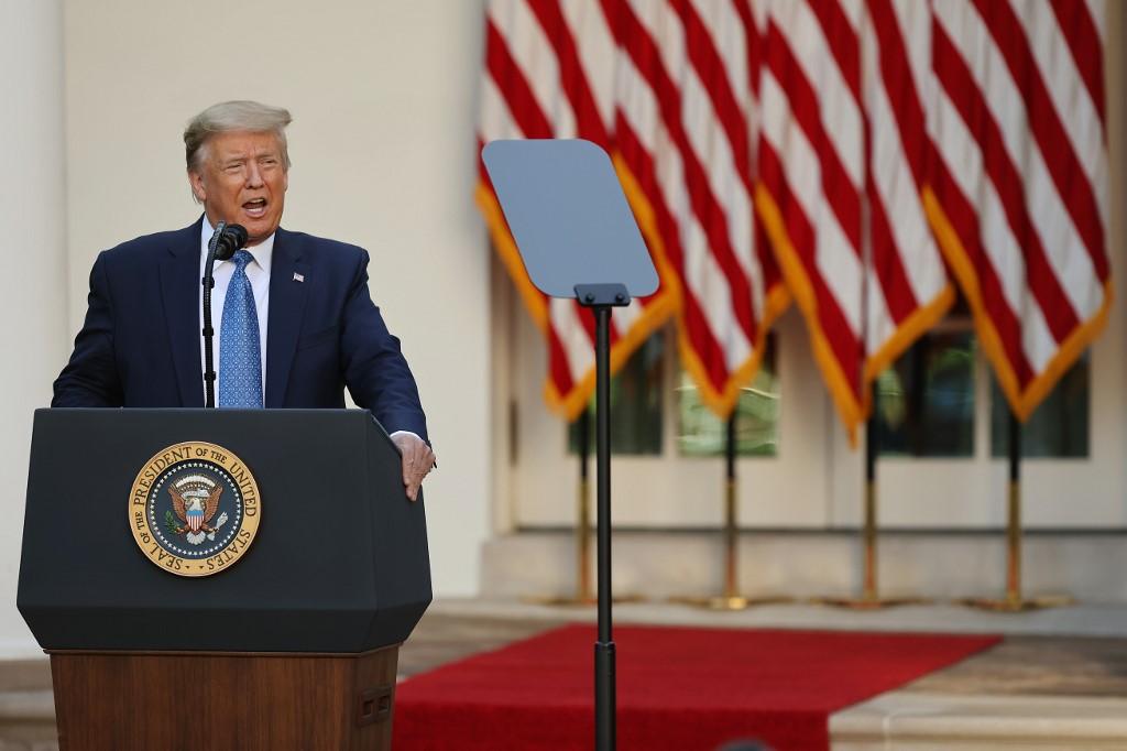 Donald Trump, presidente dos EUA