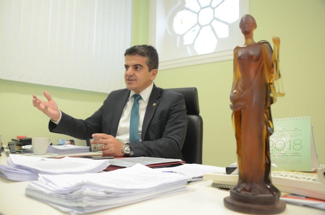 José Fabrício Silva De Lima,  Defensor Público-Geral do Estado de Pernambuco e Presidente do Colégio Nacional dos Defensores Públicos Gerais