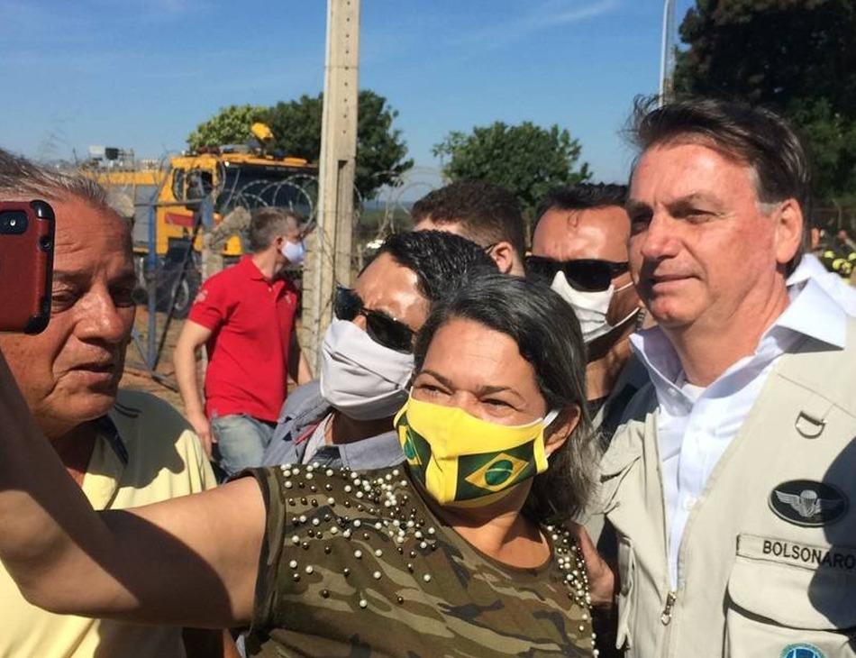 Bolsonaro provoca aglomeração em Planaltina (DF)