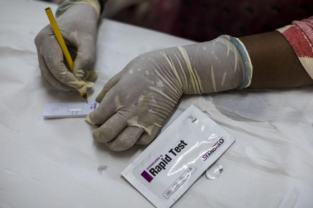 Teste coronavírus
