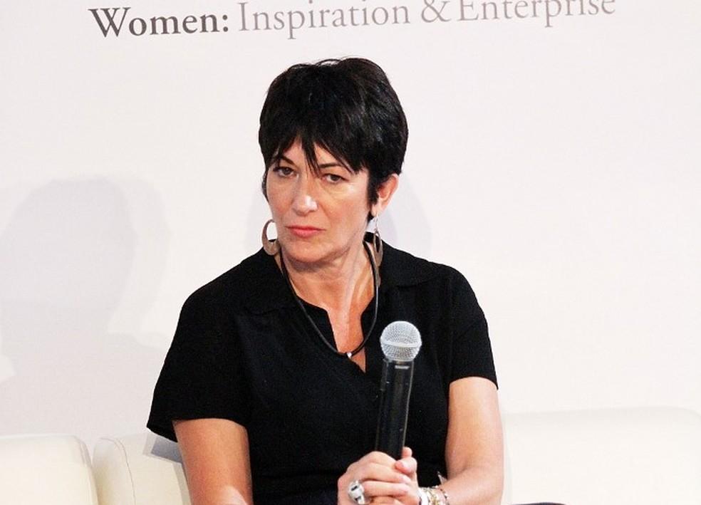 Ghislaine Maxwell, parceira de Jeffrey Epstein