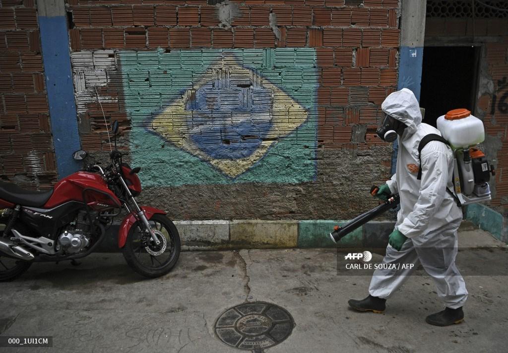 Limpeza urbana em virtude da Covid-19 no Brasil