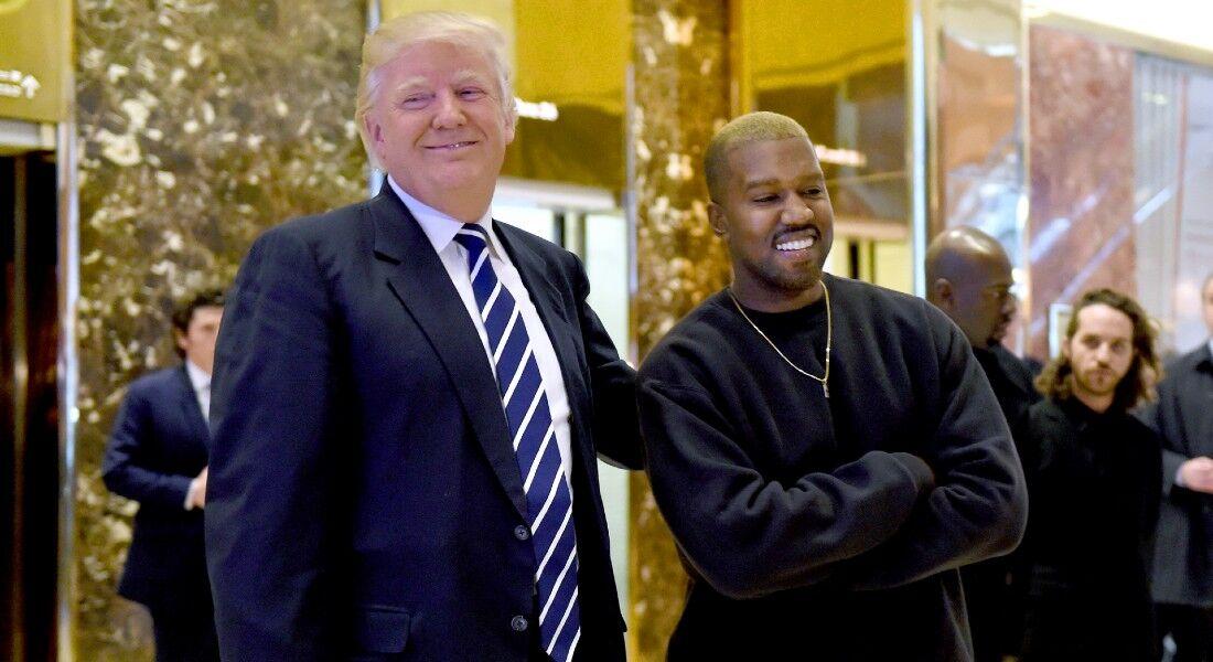 West já apoiou publicamente o presidente Donald Trump